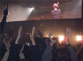 Despedida final del concierto