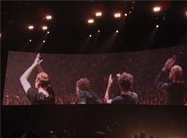Más despedidas del concierto