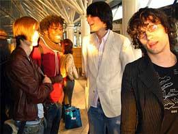 Imagen del grupo de música Bloc Party