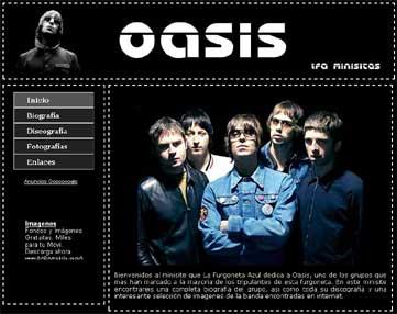 Imagen de previsualización del Minisite de Oasis