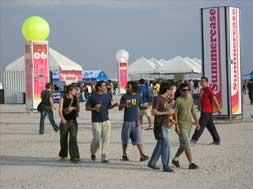 Foto del ambiente del festival Summercase