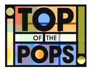 Uno de los logos del programa Top of the Pops de la BBC