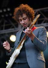 El guitarra de The Strokes Albert Hammond Jr