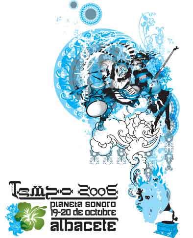 Cartel promocional del Festival Tempo 2006