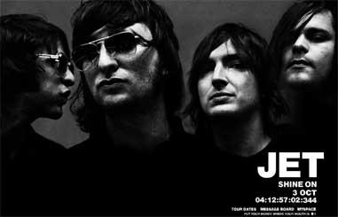 La banda australiana Jet