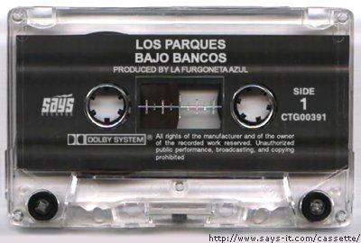Imagen del soñado disco de Los Parques llamado Bajo Bancos