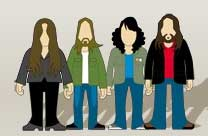 Imagen del grupo The Magic Numbers