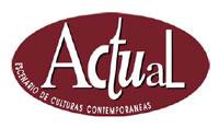 Logo del festival Actual 2007