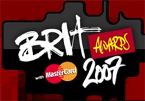 Logo de los Brit Awards del 2007