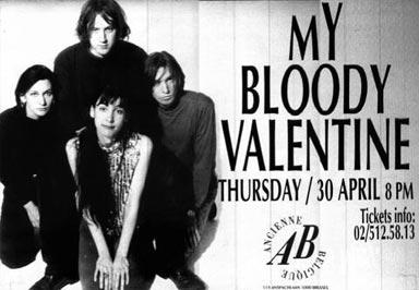 Entrada de un concierto de My Bloody Valentine