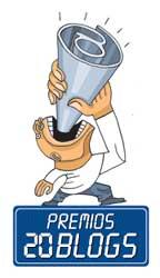 Logo de los premios 20 Blogs