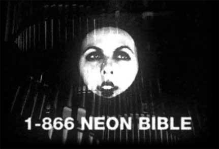 Imagen promocional del Neon Bible de Arcade Fire