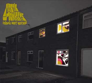 Portada del disco de Arctic Monekys Favourite worst Nightmare