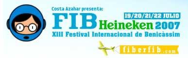 Logo del FIB Heineken 2007