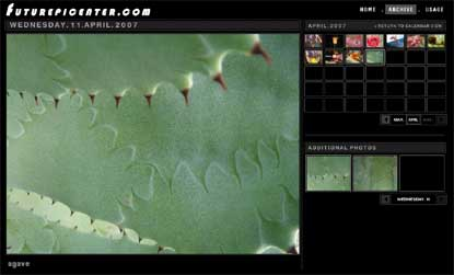 Captura del fotoblog de Michael Stipe