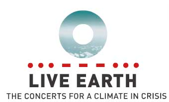 Logo del evento Live Earth