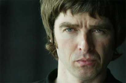 Retrato de Noel Gallagher