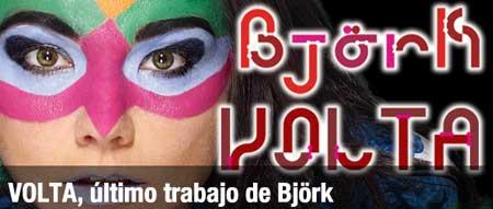 Imagen promocional del Volta de Björk en la web de Heineken
