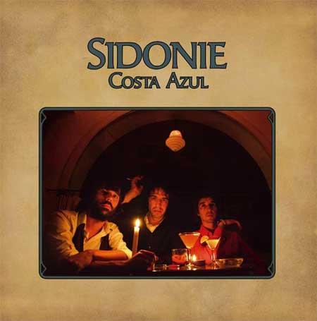 Portada del disco de Sidonie Costa Azul