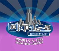 Ilustración sobre el festival Lollapalooza