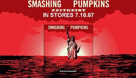 Arte del Zeitgeist de los Smashing Pumpkins