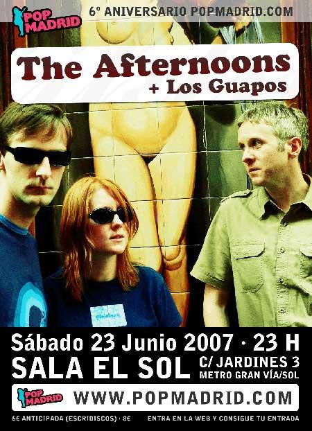 Cartel de la fietsa de Pop Madrid