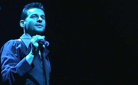El cantante Dave Gahan