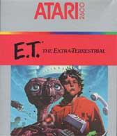 El juego ET - El extratarrestre de la Atari