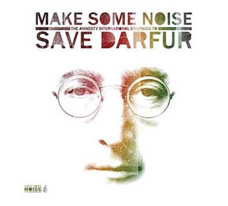 Caratula del cd Make Some Noise, The Amnesty International Campaign to save Darfur