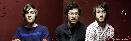El grupo We Are Scientists
