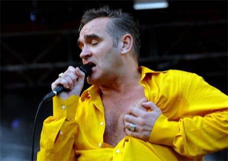 Morrisey en el escenario