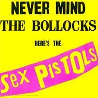 Portada del Never Mind the Bollocks de los Sex Pistols