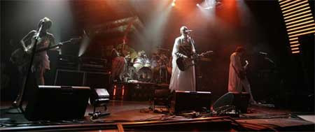 Imagen del concierto secreto de los Smashing Pumpkins en Madrid