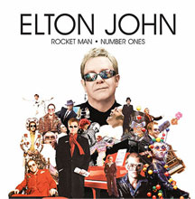 Portada del disco del Elton John Rocket Man