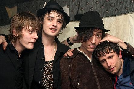 El grupo de musica Babyshambles
