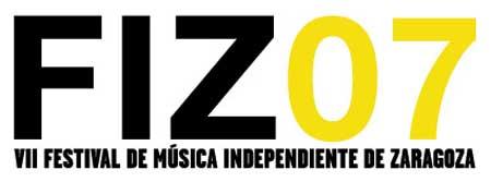 Logo del Festival de Música Independiente de Zaragoza 2007