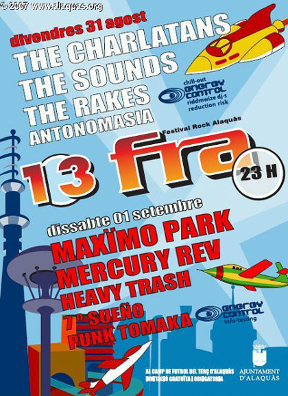 Cartel del festival FRA