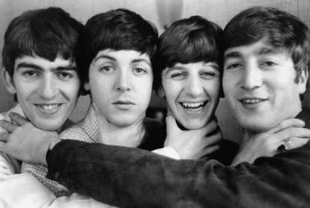 Unos jovencisimos The Beatles