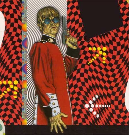 Ilustración del myspace del nuevo grupo Los Invisibles