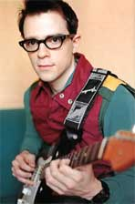 El lider de Weezer, Rivers Cuomo