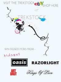 Cartel de la subasta de Trekstock