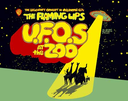 Portada del DVD de The Flaming Lips, U.F.O.S. at the Zoo