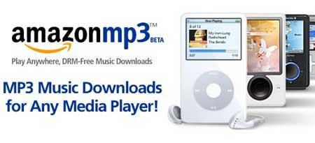 Banner promocional de Amazon MP3