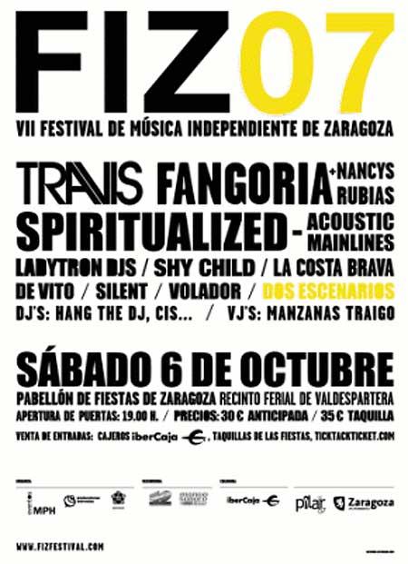 Cartel promocional del FIZ 2007