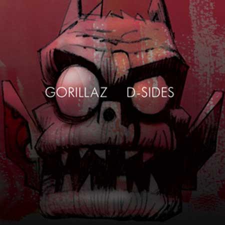 Portada del D-Sides de Gorillaz