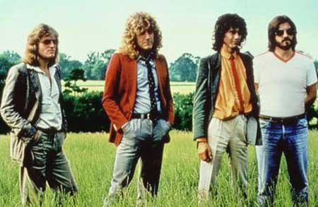 El grupo Led Zeppelin