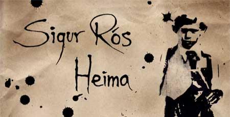 Imagen de la portada de la web dedicada al documental Heima