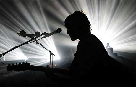Imagen de un concierto de Spiritualized