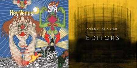 Portadas de los nuevos discos de Super Furry Animals y Editors