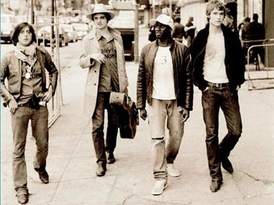 Componentes del grupo The Libertines